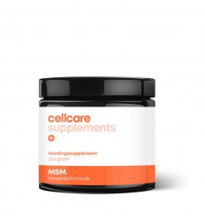 Cellcare MSM 250 gram | Superfoodstore.nl