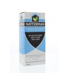 Hoest Natterman Hoestdrank extra sterk broomhexine HCl 8mg/5ml