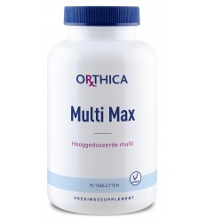 Orthica Multi Max 90 tabletten | Superfoodstore.nl