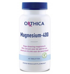 Orthica Magnesium 400 60 tabletten | Superfoodstore.nl