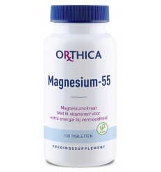 Orthica Magnesium 55 120 tabletten | Superfoodstore.nl