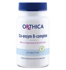 Orthica Co-enzym B complex 60 tabletten | Superfoodstore.nl