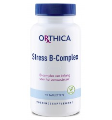 Orthica Stress B complex 90 tabletten | Superfoodstore.nl