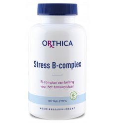 Orthica Stress B complex 180 tabletten | Superfoodstore.nl