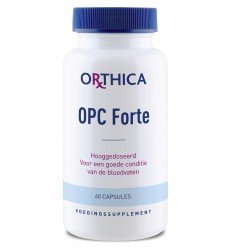 Orthica OPC forte 60 capsules | Superfoodstore.nl