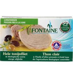 Fontaine Tonijnfilet in olijfolie 120 gram | Superfoodstore.nl