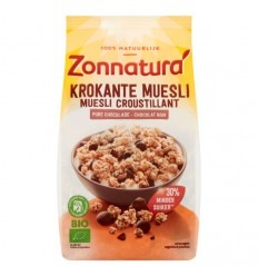 Muesli Zonnatura Krokante muesli chocolade 375 gram kopen