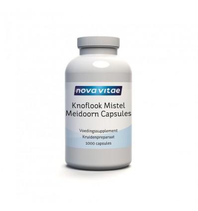 Nova Vitae Knoflook mistel meidoorn 1000 capsules |