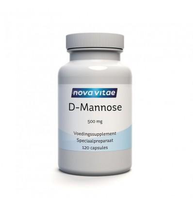 Nova Vitae D-Mannose 500 mg 120 capsules | Superfoodstore.nl
