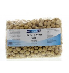 Nova Vitae Hazelnoten wit ongebrand raw 1 kg | Superfoodstore.nl