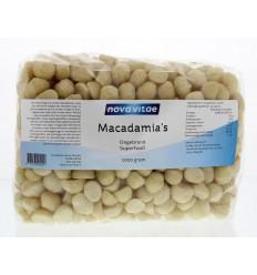 Nova Vitae Macadamia ongebrand raw 1 kg   Superfoodstore.nl