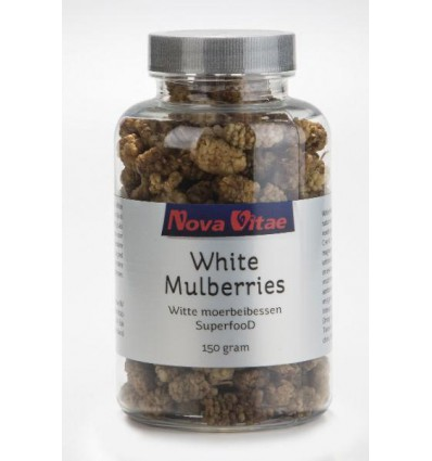 Nova Vitae Mulberry bessen (moerbeien) 150 gram |