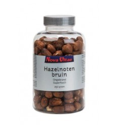 Nova Vitae Hazelnoten bruin ongebrand raw 250 gram |