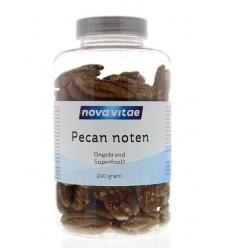 Nova Vitae Pecannoten ongebrand raw 200 gram | Superfoodstore.nl