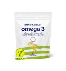 Arctic Blue Omega 3 algenolie DHA 60 capsules |