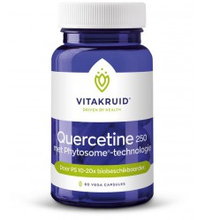 Vitakruid Quercetine 60 vcaps | Superfoodstore.nl