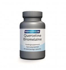 Nova Vitae Quercetine bromelaine 60 capsules   Superfoodstore.nl