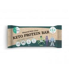 Go-Keto Bar mint chocolate cashew 16 stuks | Superfoodstore.nl