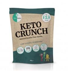 Go-Keto Crunch - almond vanilla sea salt 10 zakjes |