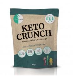 Go-Keto Crunch - almond orange 10 zakjes | Superfoodstore.nl
