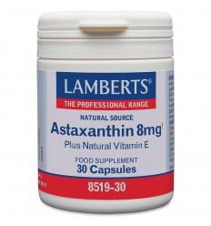 Lamberts Astaxanthine 8 mg 30 capsules | Superfoodstore.nl