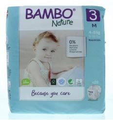 Bambo Nature Babyluier midi 3 4-8 kg 28 stuks |
