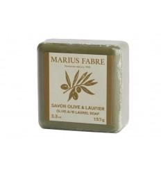 Marius Fabre Olijf & laurier zeep 150 gram   Superfoodstore.nl