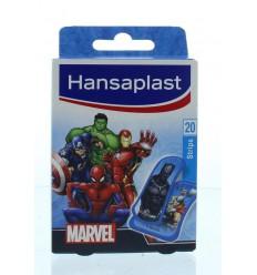 Hansaplast Pleister strip Marvel 20 stuks | Superfoodstore.nl
