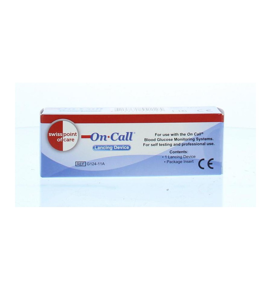On Call GK Dual glucose prikpen