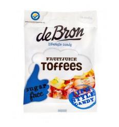 De Bron Fruit toffee suikervrij 90 gram | Superfoodstore.nl
