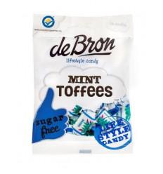 De Bron Mint toffee suikervrij 90 gram | Superfoodstore.nl
