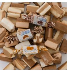 De Bron Caribbean cream toffee suikervrij 955 gram |