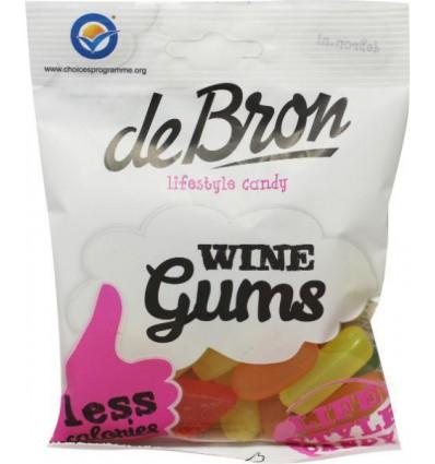 Suikervrij Snoep De Bron Winegums English suikervrij 100 gram kopen