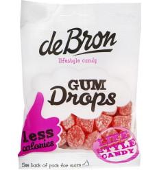 De Bron Gumdrops raspberry 100 gram | Superfoodstore.nl