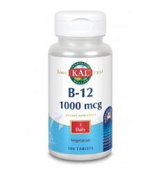 KAL Vitamine B12 1000 mcg sustained release 100 tabletten |