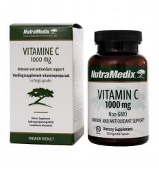 Nutramedix Vitamine C 1000 mg non-GMO 120 capsules |