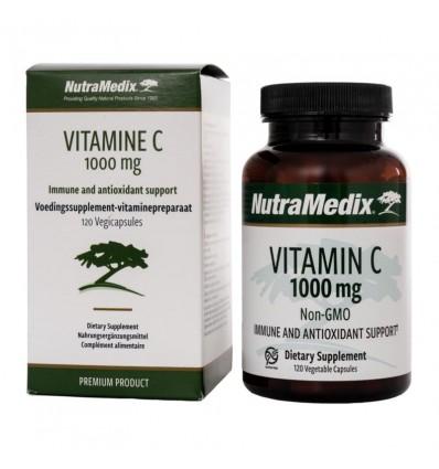 Vitamines Nutramedix Vitamine C 1000 mg non-GMO 120 capsules kopen