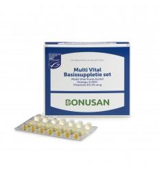 Bonusan Multivitamine Bonusan Multi vital basissupletie 1 set