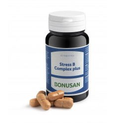 Bonusan Stress B complex plus 60 tabletten | Superfoodstore.nl