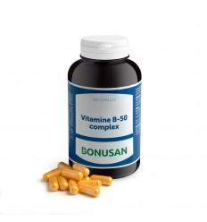 Bonusan Vitamine B50 complex 200 capsules | Superfoodstore.nl