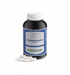 Bonusan Zinkmethionine 15 mg 300 capsules | Superfoodstore.nl