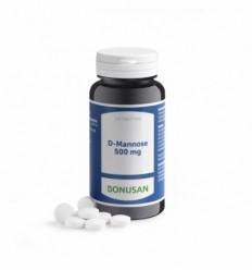Bonusan D-Mannose 500 mg 120 tabletten | Superfoodstore.nl
