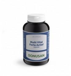 Bonusan Multi vital forte actief 180 vcaps | Superfoodstore.nl