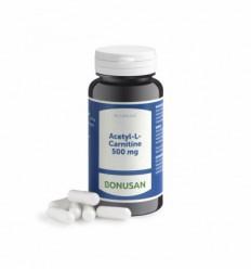 Bonusan Acetyl L carnitine 500 60 vcaps | Superfoodstore.nl