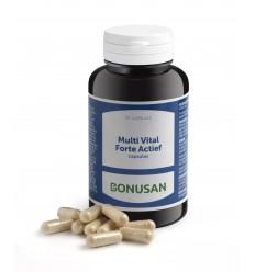 Bonusan Multi vital forte actief 90 vcaps | Superfoodstore.nl