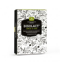 Disolut Disolact one a day 30 capsules | Superfoodstore.nl