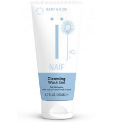 Naif Baby cleansing wash gel 200 ml   Superfoodstore.nl