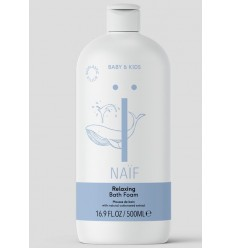 Naif Relaxing bath foam 500 ml | Superfoodstore.nl