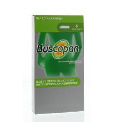 Maag Buscopan Buscopan 10 mg 6 zetpillen kopen
