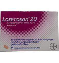 Maag Losecosan Losecosan 20 mg 14 tabletten kopen